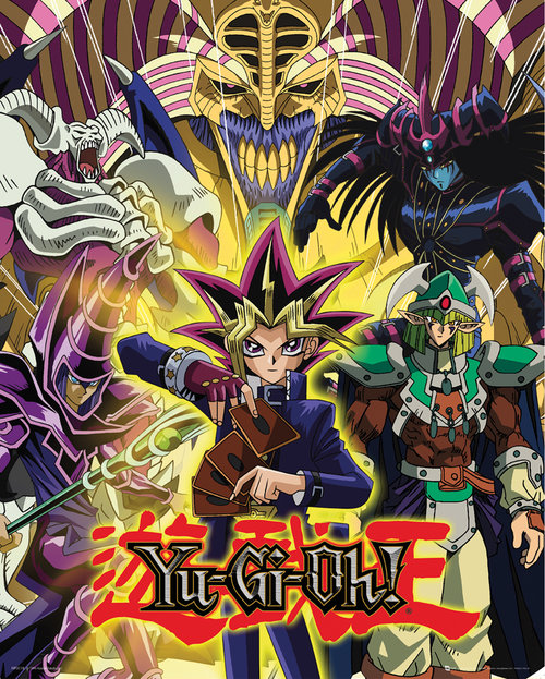 Póster Yu-Gi-Oh! - Yugi and Monsters