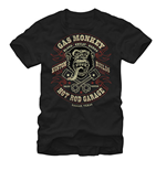 Camiseta Gas Monkey Garage Blood Sweat Beers