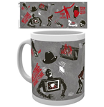 Taza Nightmare On Elm Street 212746