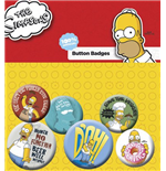 Pack Chapitas Los Simpsons - Homer