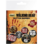 Pack Chapitas The Walking Dead - Phrases