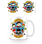 Justice League Taza Chibi Justice League