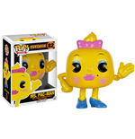 Pac-Man POP! Games Vinyl Figura Ms. Pac-Man 8 cm