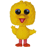 Barrio Sésamo Figura POP! TV Vinyl Big Bird (Flocked) 15 cm