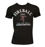 Camiseta Fireball Cinnamon Whisky