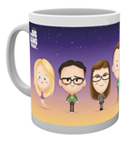 Taza Big Bang Theory - Characters