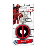 Llavero Deadpool - Logo Colour Pewter