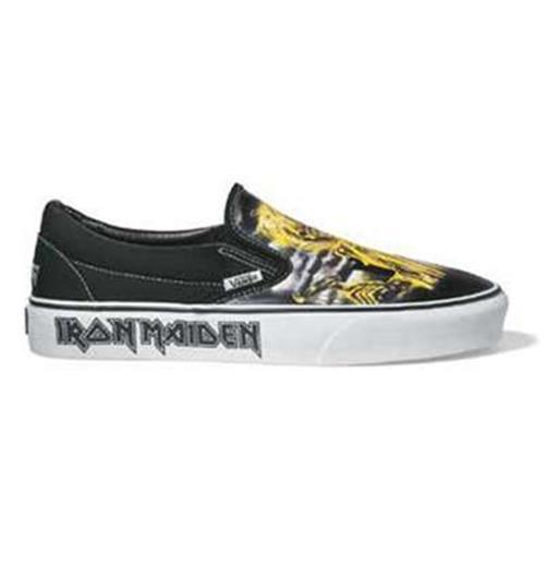 zapatos vans iron maiden