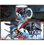 Captain America Civil War Taza Team Cap