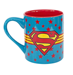 Taza Superman Stars Logo