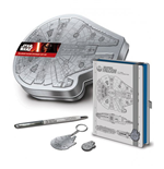Star Wars Episode VII Set Papeleria Premium Millennium Falcon