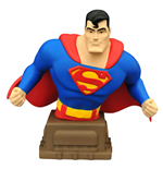Superman La Serie Animada Busto Superman 15 cm