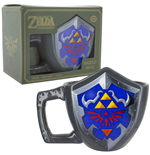 Legend of Zelda Taza Hylian Shield 11 cm