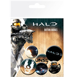 Set Chapitas Halo 5 - Mix