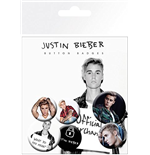 Pack Chapitas Justin Bieber - Mix 2
