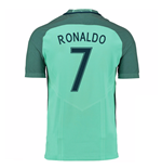 Camiseta Portugal 2016-2017 Away Nike (Ronaldo 7)