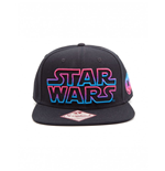 Star Wars Gorra Béisbol Snap Back Pink / Blue Logo