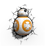 Star Wars Episode VII Lámpara 3D LED BB-8