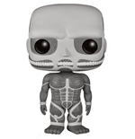 Attack on Titan Figura POP! Animation Vinyl Colossal Titan Black & White 15 cm