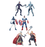Marvel Legends Series Packs de 2 Figuras 10 cm y Comic 2016 Wave 1 Surtido (8)