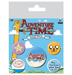 Pack Chapitas Hora de aventuras - Hey, Do You Know What Time It Is?