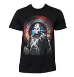 Camiseta Capitán América Civil War Marvel Mercenary Cross Bones