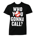 Camiseta Los Cazafantasmas Who You Gonna Call