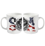 Taza Sons of Anarchy Usa Logo