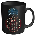 Taza Sons of Anarchy Usa Skull