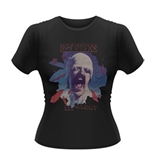 Camiseta Scorpions - Black Out de mujer
