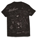 Camiseta Game Of Thrones WESTEROS MAP