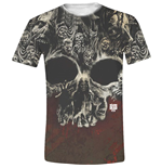 Camiseta The Walking Dead - Walkers Skull Full Printed