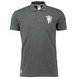 Polo Manchester United FC 2016-2017 Adidas BST Core Crew (Gris Oscuro)