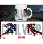 Captain America Civil War Taza Running To Battle