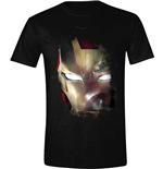 Camiseta Capitán America - Civil War - Iron Man Reflection
