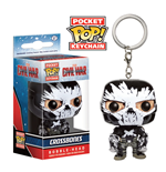 Captain America Civil War Llavero Pocket POP! Vinyl Crossbones 4 cm