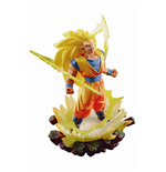Dragonball Super Dracap Memorial 03 Estatua PVC Super Saiyan 3 Son Goku 10 cm