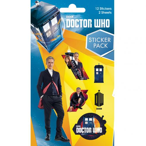 Pegatina Doctor Who 220426