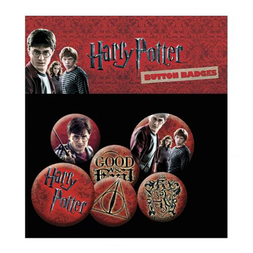 Pack Chapitas Harry Potter