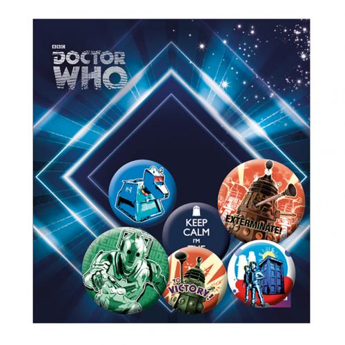 Pack Chapitas Doctor Who