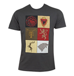 Camiseta Juego de Tronos (Game of Thrones) House Squares