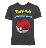 Camiseta Pokémon Catch Em All