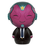 Captain America Civil War Dorbz Vinyl Figura Vision in Suit 8 cm