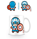 Marvel Comics Taza Kawaii Captain America