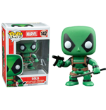 Marvel Comics POP! Vinyl Cabezón Deadpool Solo 9 cm
