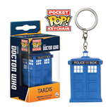 Doctor Who Llavero Pocket POP! Vinyl Tardis 4 cm