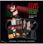 Vinilo Elvis Presley - Live In The 50's - The Complete Tour Recordings (2 Lp +24 Page Gatefold)