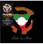 "Vinilo Willie Nelson/Uncle Tupelo - Side By Side Truck Drivin' Mad (7"")"