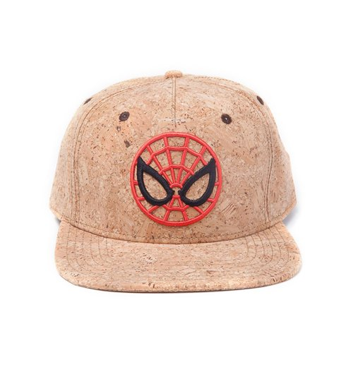 Compra Spider-Man Gorra Béisbol Snap Back Cork Ultimate Spider-Man Logo 21b91fabe5c