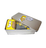 Los Simpsons Pack de 3 Pares de calcetines con Lata